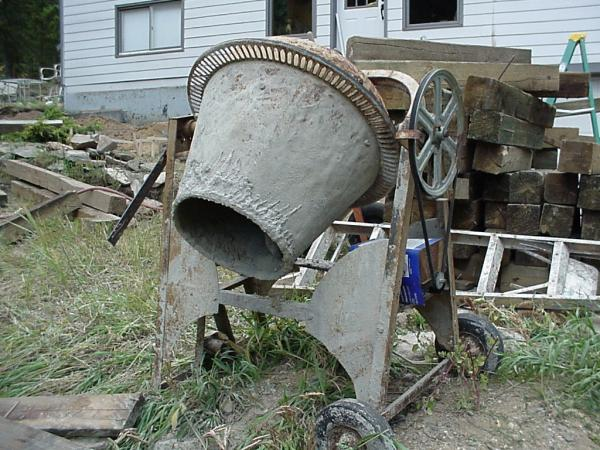 Antique Concrete Mixer - Best 2000+ Antique decor ideas